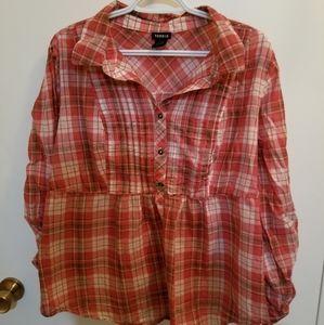 Torrid plaid shirt